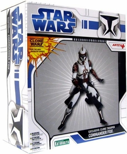 Star Wars Kotobukiya ArtFX Deluxe 1/7 Pre-Painted Exclusive Vinyl Statue Clone Commander Fox