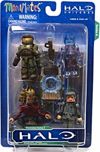 Halo Minimates Series 4 Boxed Set 4-Pack [Jacob Keys, Prophet of Truth, Cortana & Master Chief]