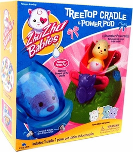 Zhu Zhu Babies Playset Treetop Cradle & Power Pod [Hamster & Babies Not Included!]