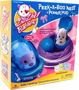 Zhu Zhu Babies Playset Peek-A-Boo Nest & Power Pod [Hamster & Babies Not Included!]
