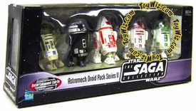 Star Wars Exclusive Astromech Droid Pack Series II [R2-A6, R2-X2, R4-E1, R3-Y2 & R2-M5]