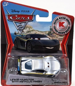 Disney / Pixar CARS 2 Movie Exclusive 1:55 Die Cast Car Lewis Hamilton