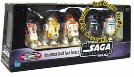 Star Wars Exclusive Astromech Droid Pack Series I [R2-Q2, R4-A22, R3-T2, R2-C4 & R3-T6]