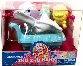 Zhu Zhu Adorable Baby Hutch [Purple]