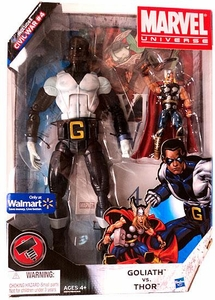 Marvel Universe Exclusive Action Figure 2-Pack Thor & 12 Inch Goliath [Includes Civil War #4]