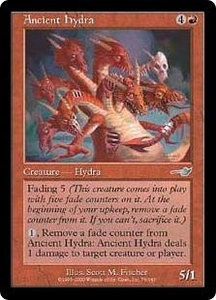 Magic the Gathering Nemesis Single Card Uncommon #76 Ancient Hydra