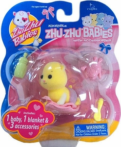 Zhu Zhu Baby Nanners with Accessories [Yellow]