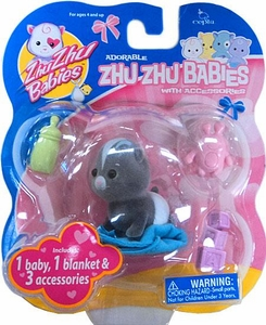 Zhu Zhu Baby Tater-Tot with Accessories [Black]