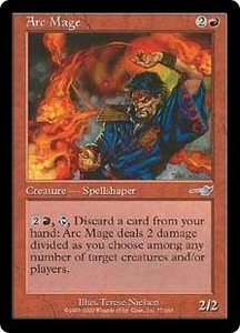 Magic the Gathering Nemesis Single Card Uncommon #77 Arc Mage