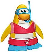 Disney Club Penguin 2 Inch Mini Figure Snorkeler