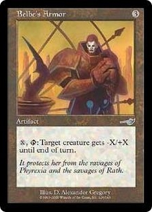 Magic the Gathering Nemesis Single Card Uncommon #126 Belbe's Armor
