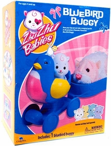 Zhu Zhu Babies Playset Bluebird Buggy [Hamster & Babies Not Included!]