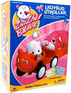 Zhu Zhu Babies Playset Ladybug Stroller [Hamster & Babies Not Included!]