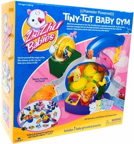 Zhu Zhu Babies Playset Tiny-Tot Baby Gym [Hamster & Babies Not Included!]