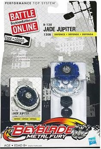 Beyblades Metal Fury Defense Battle Top #B138 Jade Jupiter