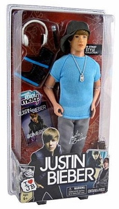 Justin Bieber Basic Action Figure Doll Street Style