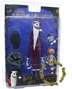NECA Tim Burton's The Nightmare Before Christmas Series 2 Action Figure Santa Jack