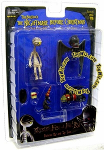 NECA Tim Burton's The Nightmare Before Christmas Series 4 Action Figure Mummy Boy & Bat Kid