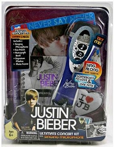 Justin Bieber Ultimate Concert Kit with Singing Microphone