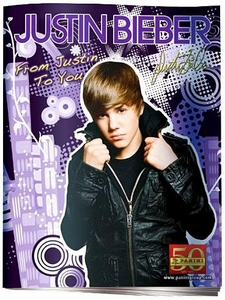 Justin Bieber Panini Sticker Album Book