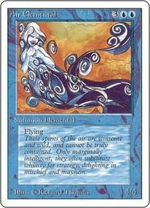 Magic the Gathering Unlimited Edition Single Card Uncommon Air Elemental