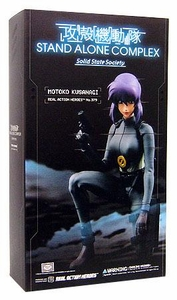 Ghost in the Shell: Stand Alone Complex Solid State Society Medicom Real Action Heroes 1/6 Scale Figure Motoko Kusanagi