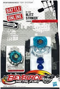 Beyblades Metal Fury Attack Battle Top #B142 Blitz Striker