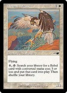 Magic the Gathering Nemesis Single Card Common #6 Defiant Falcon