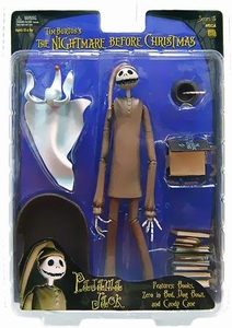 NECA Tim Burton's The Nightmare Before Christmas Series 5 Action Figure Pajama Jack with Sleeping Zero