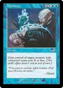 Magic the Gathering Nemesis Single Card Uncommon #31 Dominate