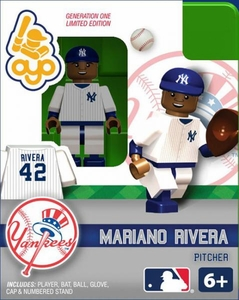 OYO Baseball MLB Building Brick Minifigure Mariano Rivera [New York Yankees]