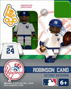 OYO Baseball MLB Building Brick Minifigure Robinson Cano [New York Yankees]