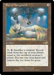 Magic the Gathering Nemesis Single Card Rare #129 Eye of Yawgmoth