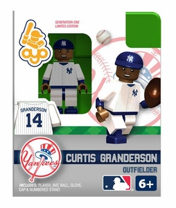 OYO Baseball MLB Building Brick Minifigure Curtis Granderson [New York Yankees]