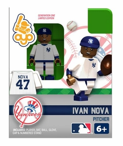 OYO Baseball MLB Building Brick Minifigure Ivan Nova [New York Yankees]