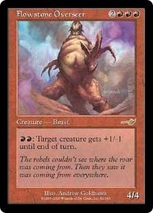 Magic the Gathering Nemesis Single Card Rare #82 Flowstone Overseer