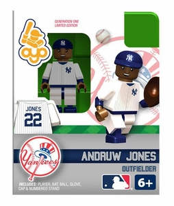OYO Baseball MLB Building Brick Minifigure Andruw Jones [New York Yankees]