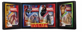 Marvel Universe 2009 SDCC San Diego Comic-Con Exclusive Action Figure 4-Pack Invaders [Captain America, Human Torch, Prince Namor & Red Skull]