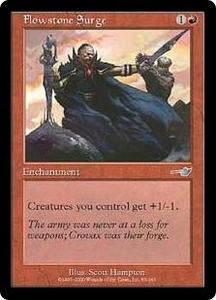 Magic the Gathering Nemesis Single Card Uncommon #85 Flowstone Surge