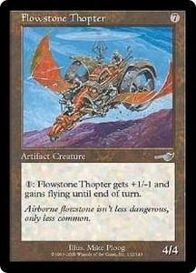 Magic the Gathering Nemesis Single Card Uncommon #132 Flowstone Thopter