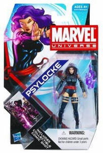 Marvel Universe 3 3/4 Inch Series 17 Action Figure #05 Psylocke