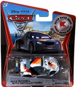 Disney / Pixar CARS 2 Movie Exclusive 1:55 Die Cast Car Max Schnell