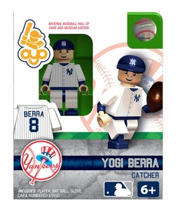 OYO Baseball MLB Building Brick Minifigure Yogi Berra [New York Yankees Hall of Fame]