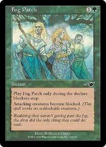 Magic the Gathering Nemesis Single Card Common #104 Fog Patch