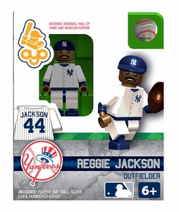 OYO Baseball MLB Building Brick Minifigure Reggie Jackson [New York Yankees Hall of Fame]