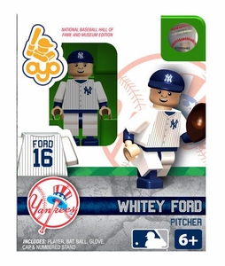 OYO Baseball MLB Building Brick Minifigure Whitey Ford [New York Yankees Hall of Fame]