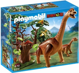 Playmobil Dinos Set #5231 Brachiosaurus with Baby