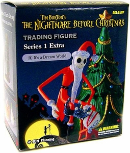Tim Burton's The Nightmare Before Christmas Series 1 Extra Trading Figure It's A Dream World