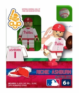 OYO Baseball MLB Building Brick Minifigure Richie Ashburn [Philadelphia Phillies Hall of Fame]