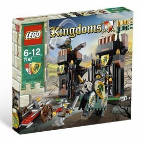 LEGO Kingdoms Set #7187 Escape from Dragon's Prison